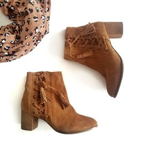 Matisse | Anthropologie Suede Ankle Booties 9